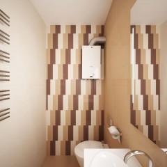 Дизайн санузла 4 кв м, фото интерьера в трёхкомнатной квартире – 02