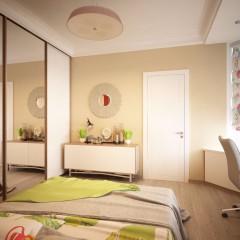 Интерьер спальни, фото в современном стиле – 02