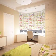 Интерьер спальни, фото в современном стиле – 03
