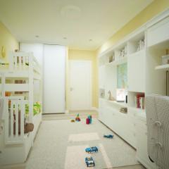 Маленькая детская комната, дизайн, фото интерьера – 01