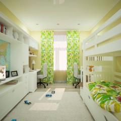 Маленькая детская комната, дизайн, фото интерьера – 02