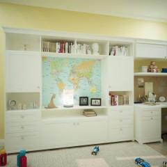 Маленькая детская комната, дизайн, фото интерьера – 04