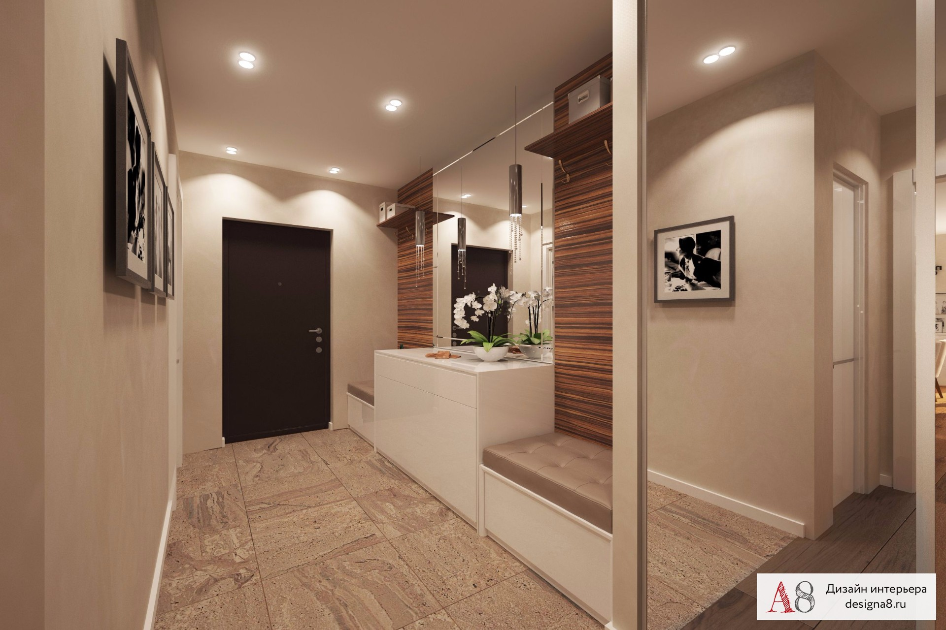 Дизайн и интерьер фото трёхкомнатных квартир 64 кв.м