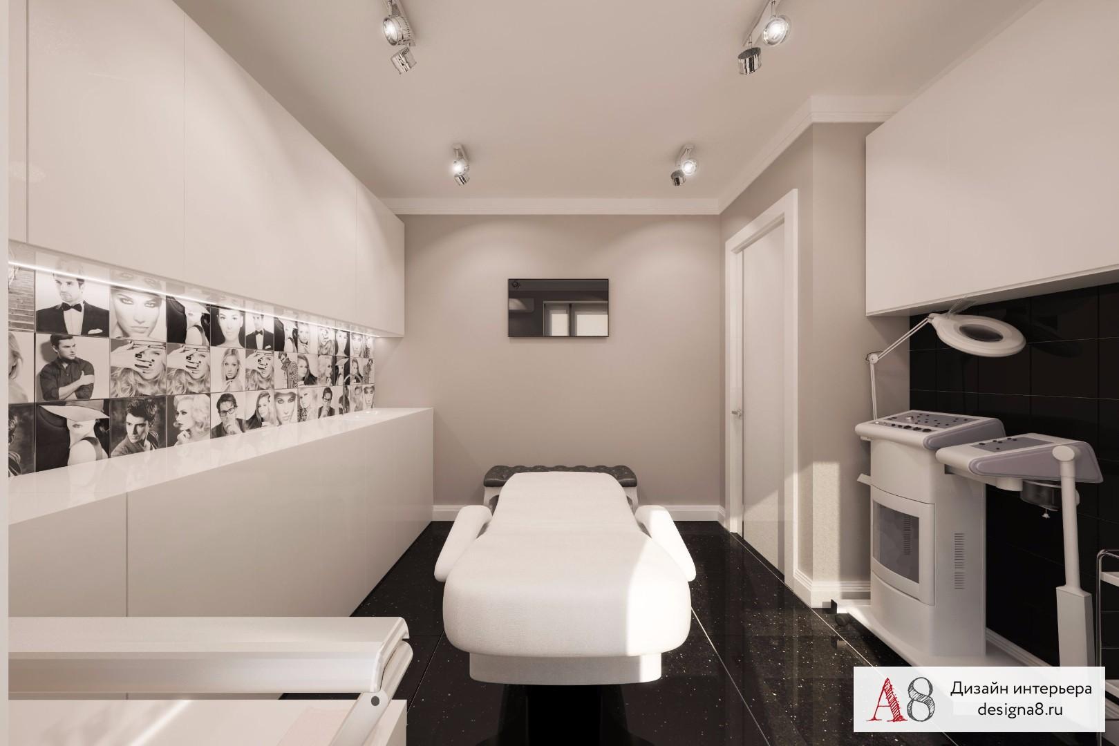 Дизайн перехода из коридора в гостиную