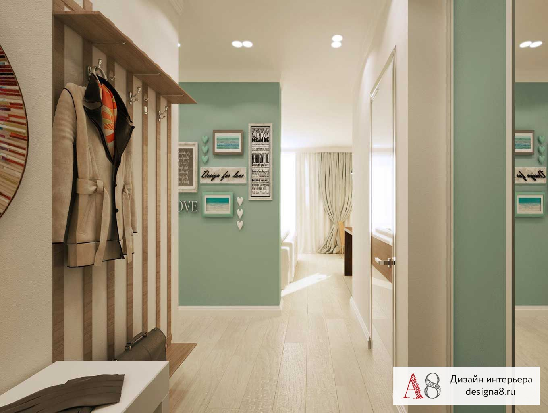Дизайн-проект двухкомнатной квартиры на улице юрия гагарина .