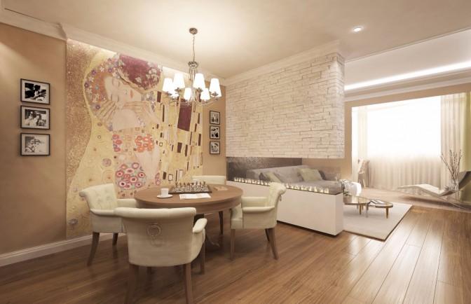 Современный дизайн квартиры на ул. Планерная
