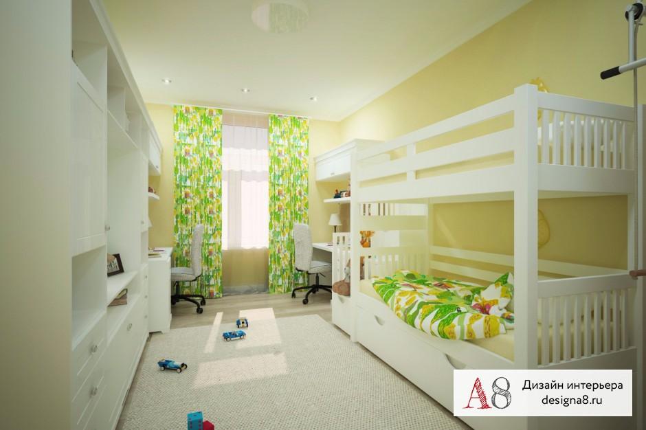 Дизайн интерьера детской – 05