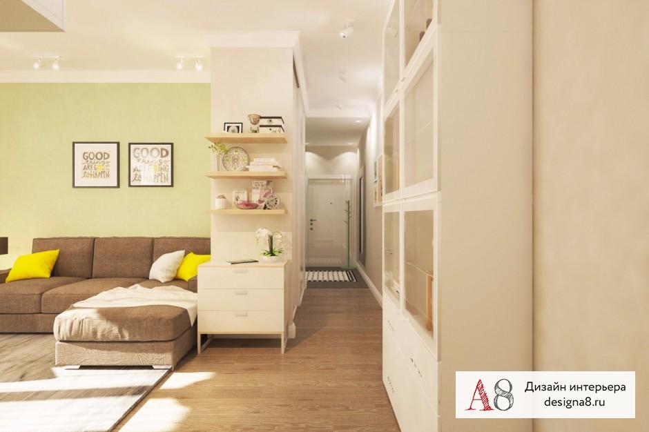 Дизайн интерьера гостиной – 05