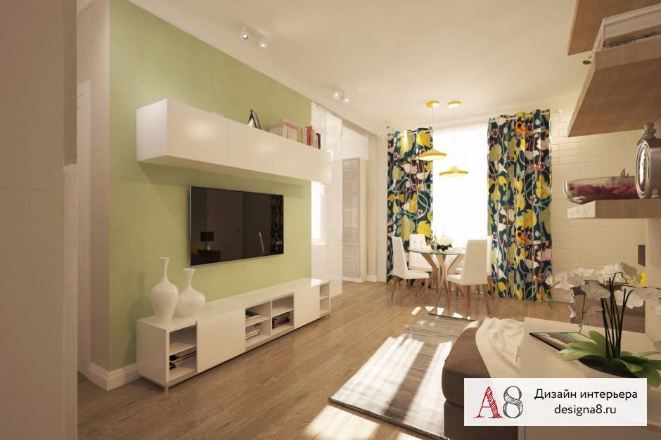 Дизайн интерьера гостиной – 06