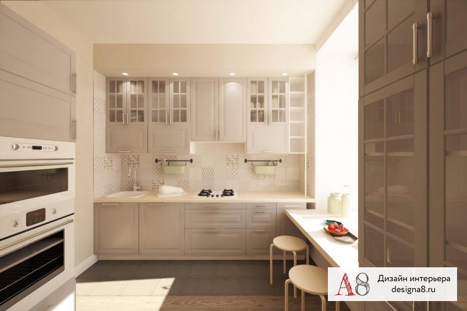 Дизайн интерьера кухни – 01