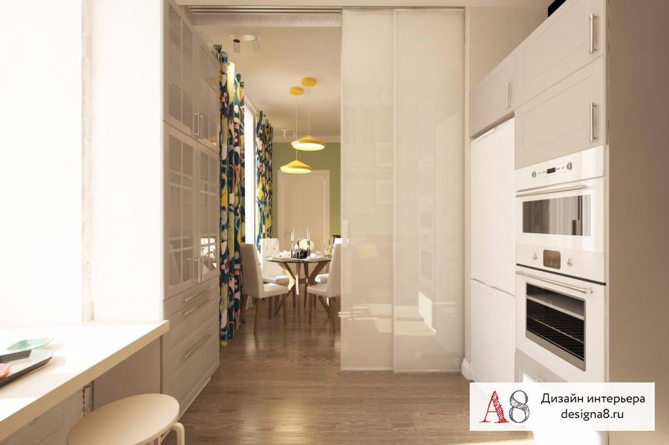 Дизайн интерьера кухни – 02