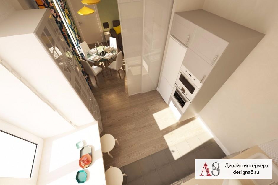 Дизайн интерьера кухни – 03