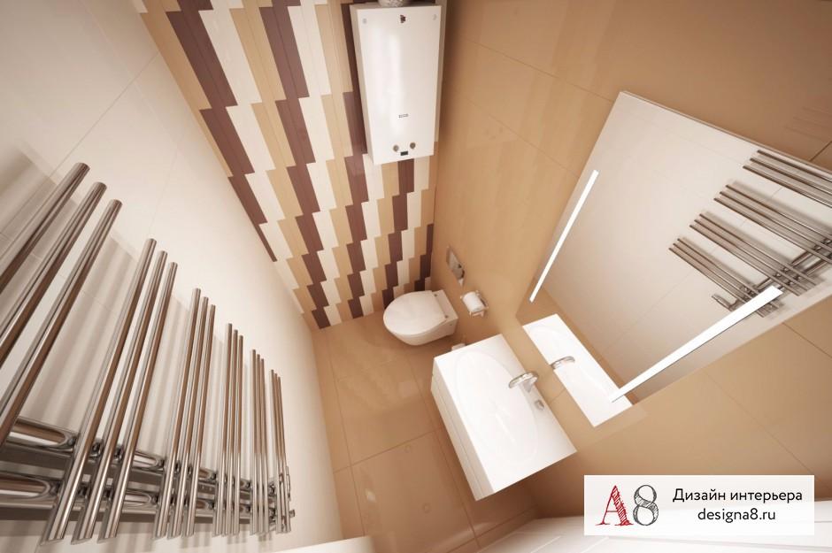 Дизайн интерьера санузла – 03
