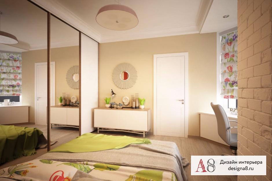 Дизайн интерьера спальни – 02