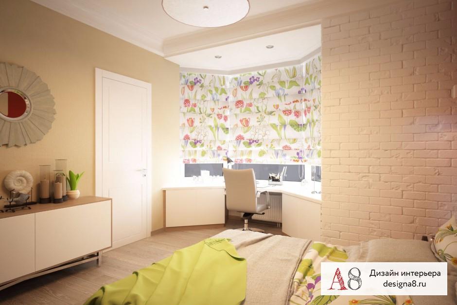 Дизайн интерьера спальни – 03