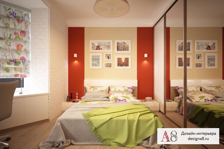 Дизайн интерьера спальни – 04