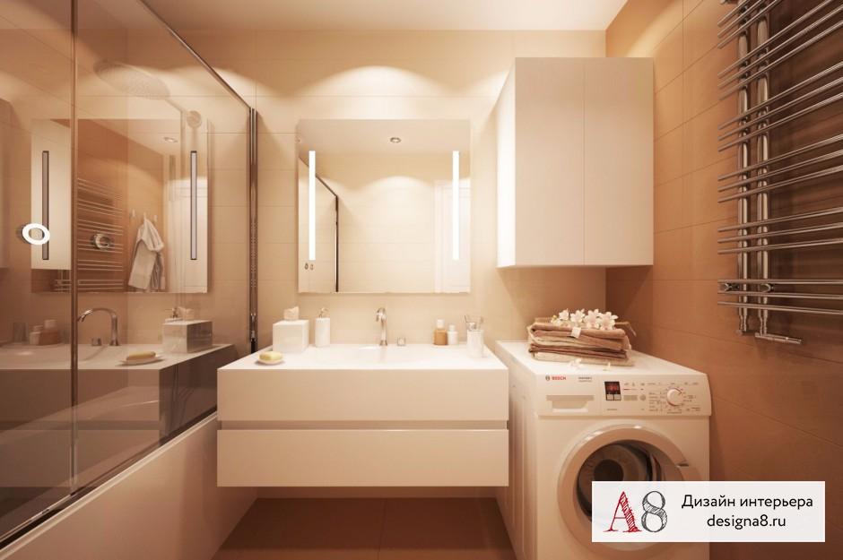 Дизайн интерьера ванной – 02