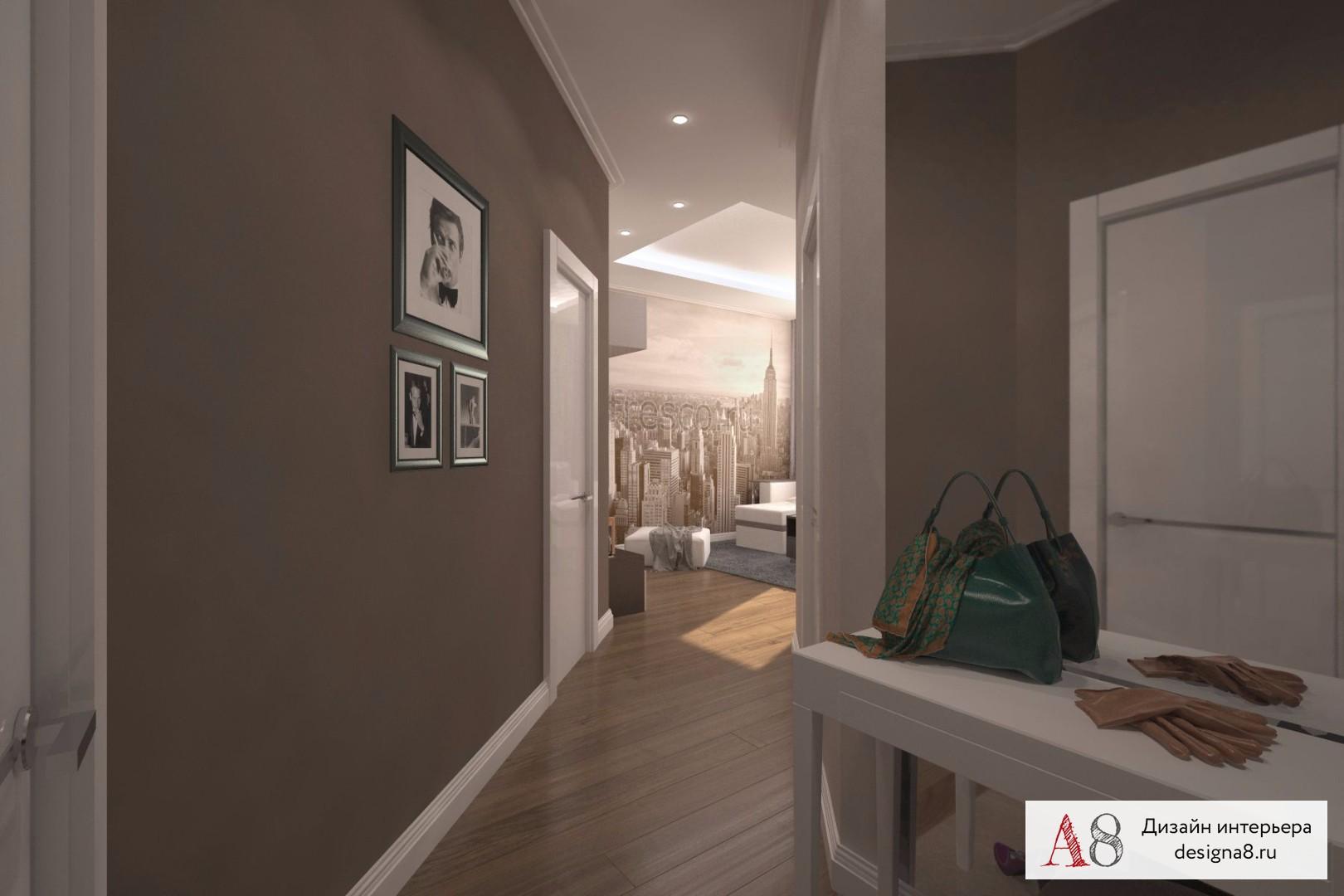 Дизайн однокомнатной квартиры (165 фото): проект ремонт 1