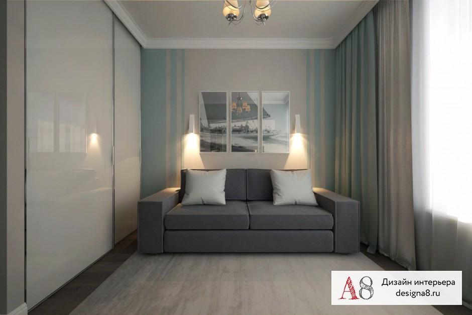 Дизайн интерьера гостевой – 02