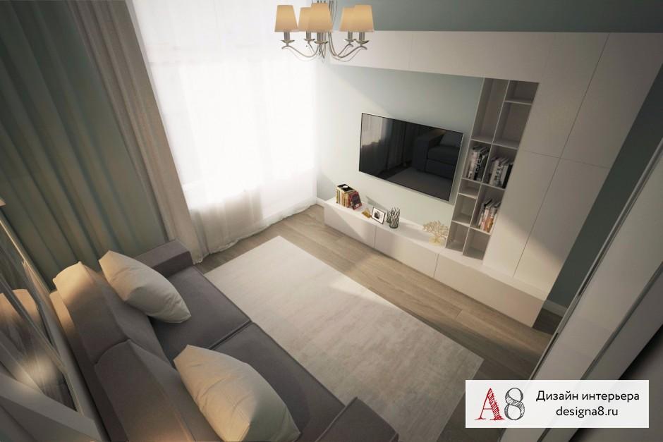 Дизайн интерьера гостевой – 04