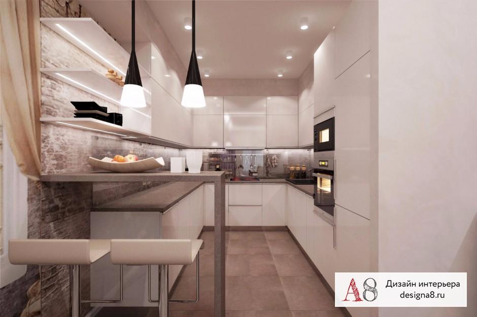 Дизайн интерьера кухни – 04