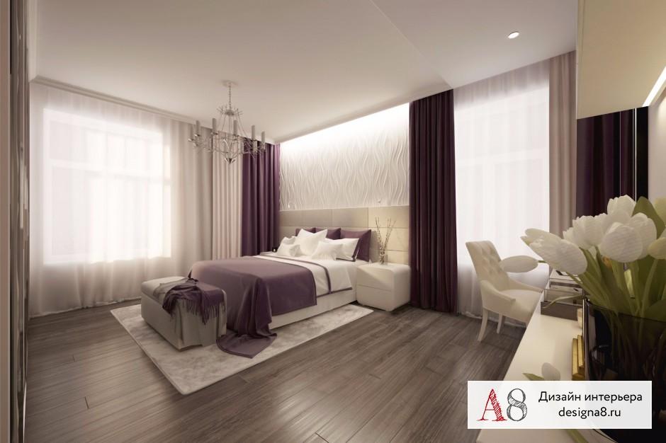 Дизайн интерьера спальни – 01