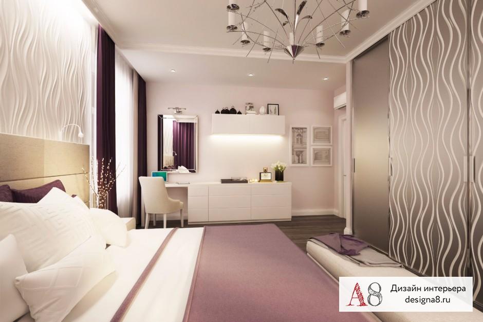 Дизайн интерьера спальни – 05