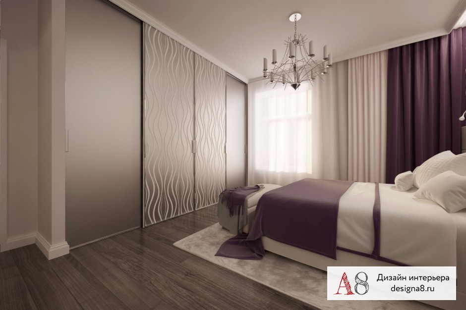 Дизайн интерьера спальни – 06