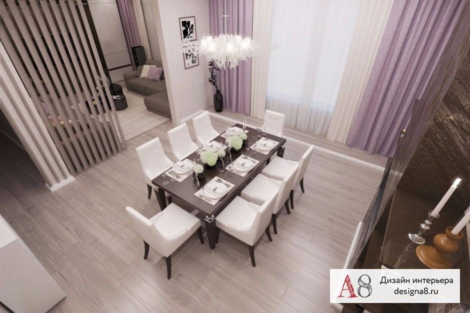 Дизайн интерьера столовой – 02