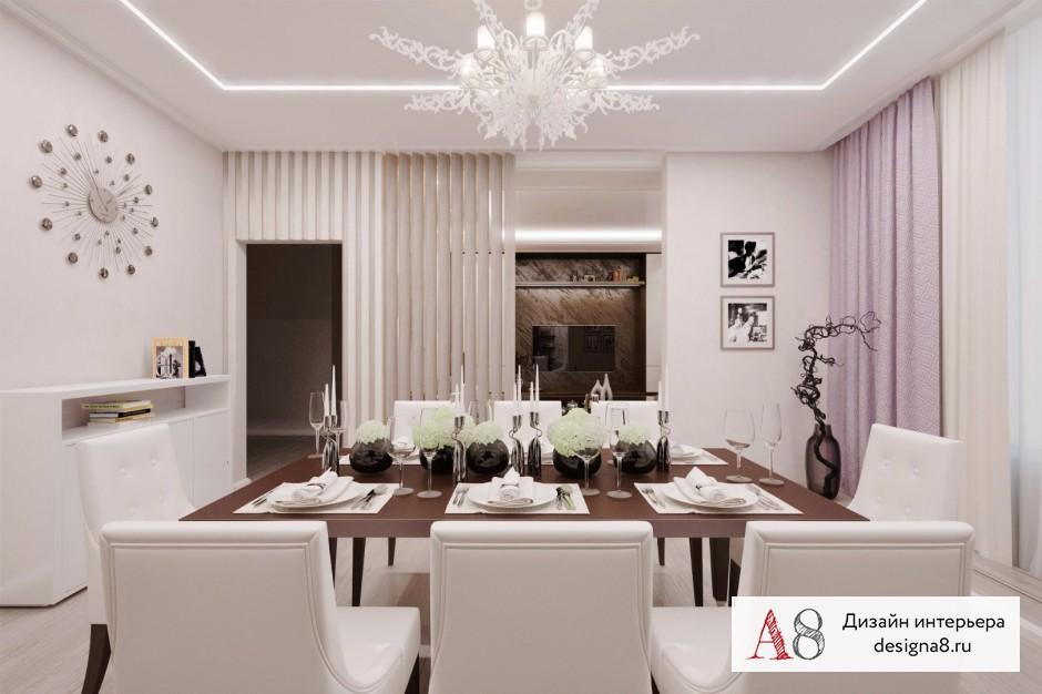 Дизайн интерьера столовой – 04