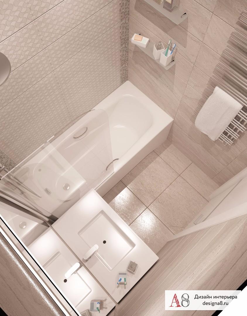Дизайн интерьера ванной – 03