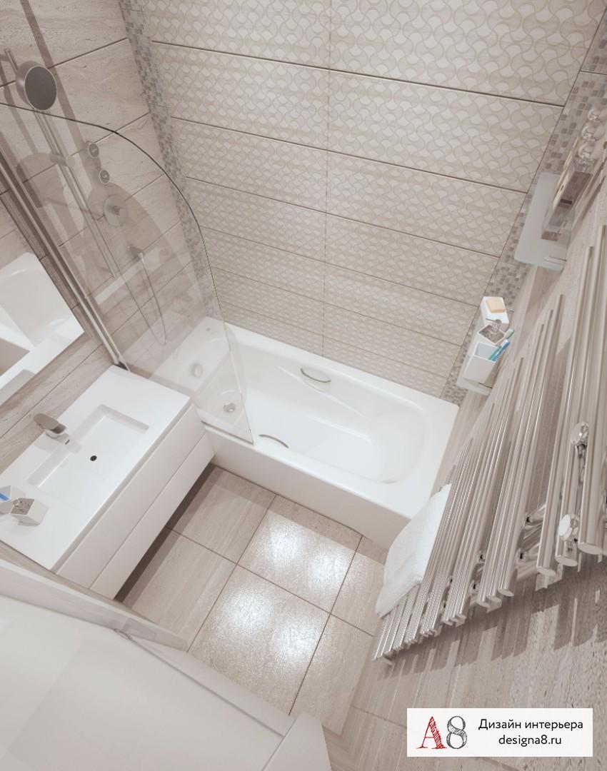 Дизайн интерьера ванной – 04