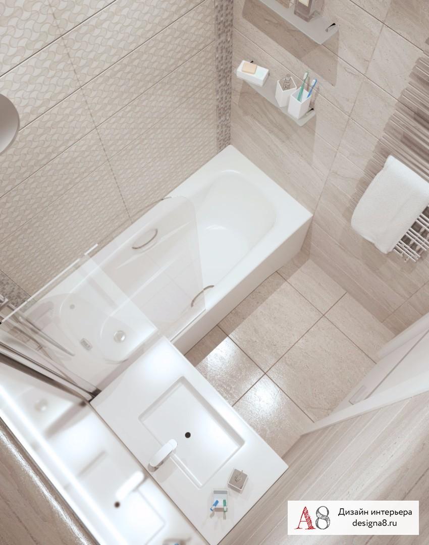 Дизайн интерьера ванной – 05