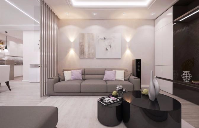 Дизайн трехкомнатной квартиры в ЖК «Лемминкяйнен»
