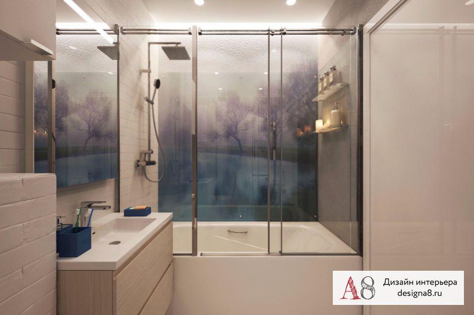 Дизайн ванной – 01