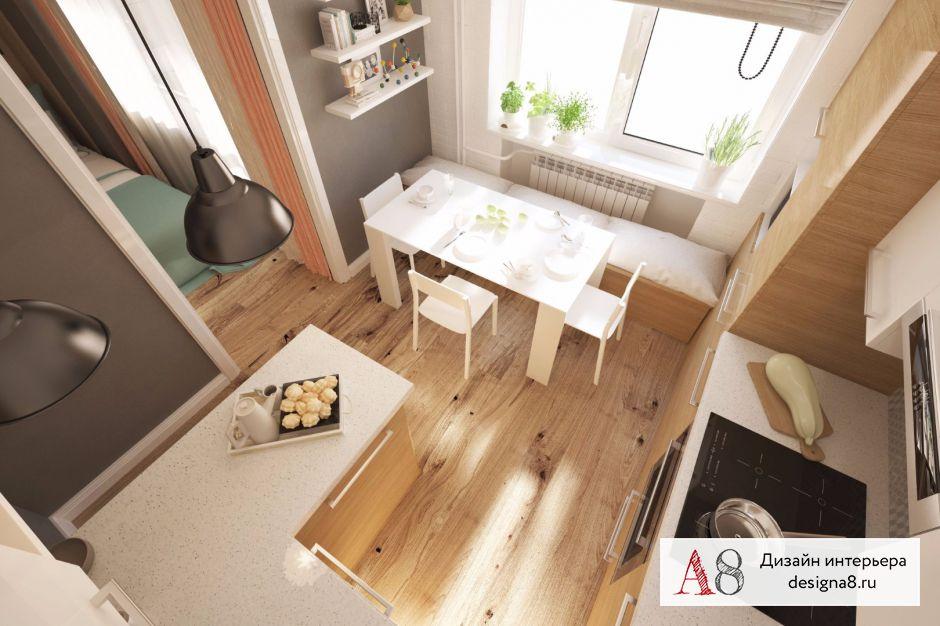 Интерьер кухни – 03
