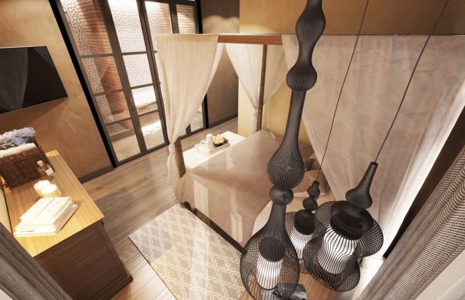 Дизайн проект трёхкомнатной квартиры 110 кв. м
