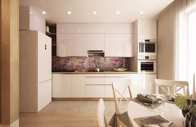 Интерьер двухкомнатной квартиры 61 кв. м