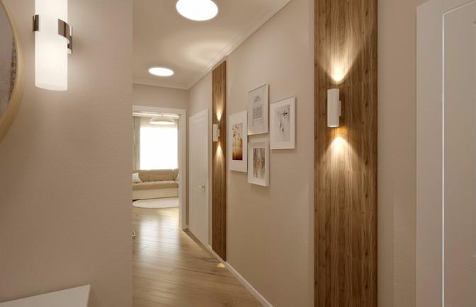 Интерьер трехкомнатной квартиры 98 кв. м