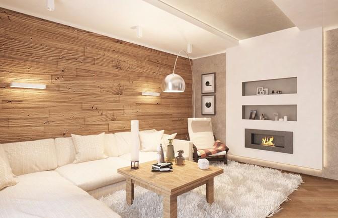 Интерьер двухкомнатной квартиры 87 кв. м
