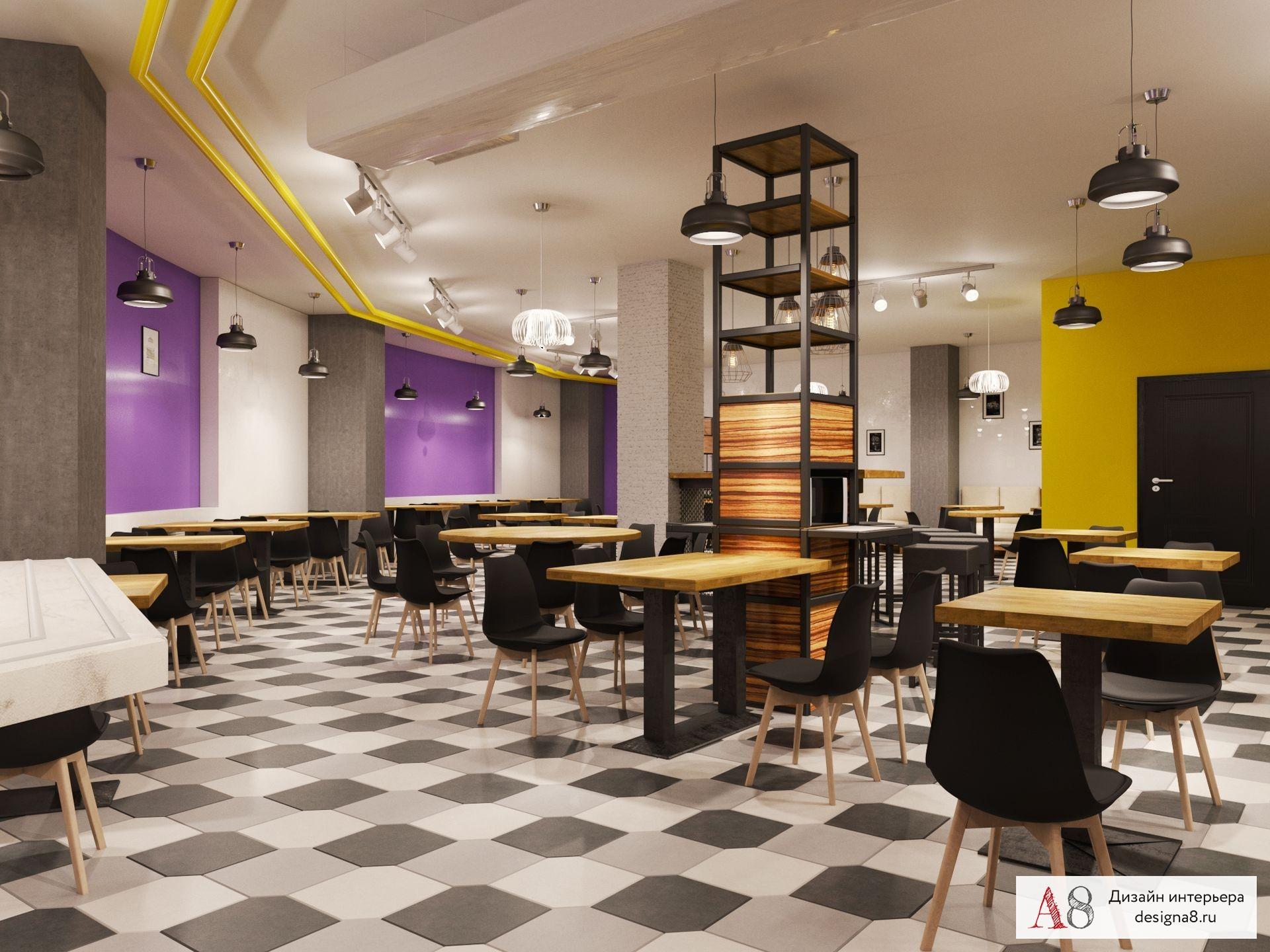 Ремонт ресторанов в Москве - дизайн и ремонт ресторанов