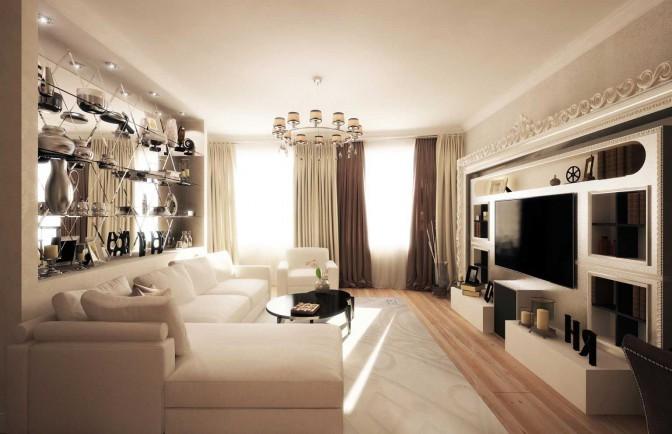 Интерьер квартиры в Красносельском районе