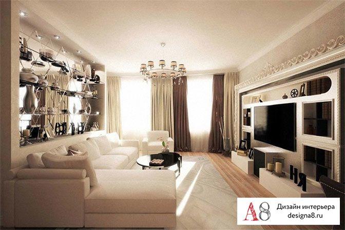 Дизайн интерьера квартир в Санкт-Петербурге