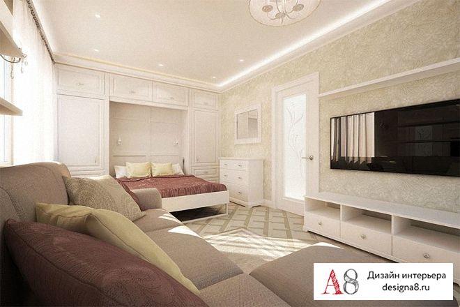 Фото дизайна квартир из 40кв