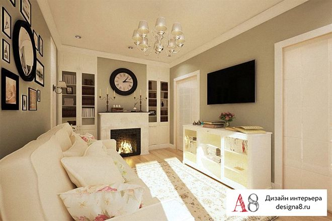 Дизайн панельной квартиры 60 кв м