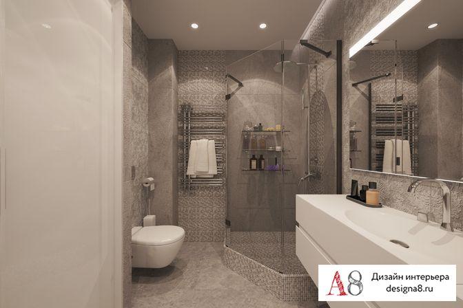 Дизайн 1 комнатной квартиры для семьи с
