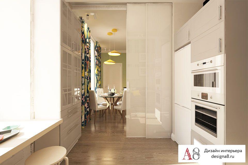 Дизайн 3 комнатной квартиры 80 кв м