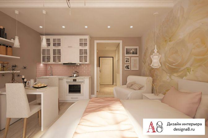 Дизайн 2-комнатной квартиры в пятиэтажке