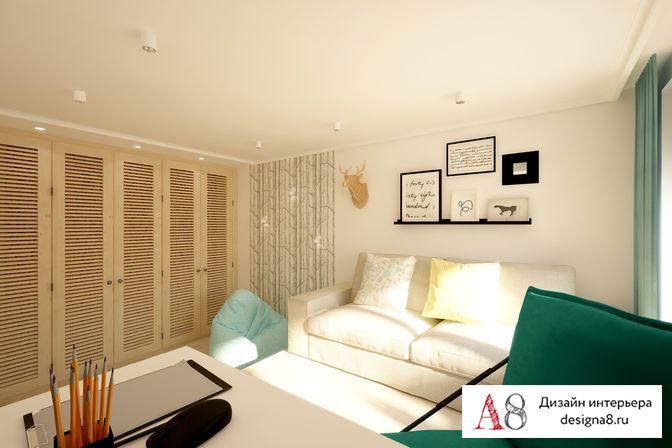 Дизайн типовой 3-комнатной квартиры 64 кв.м