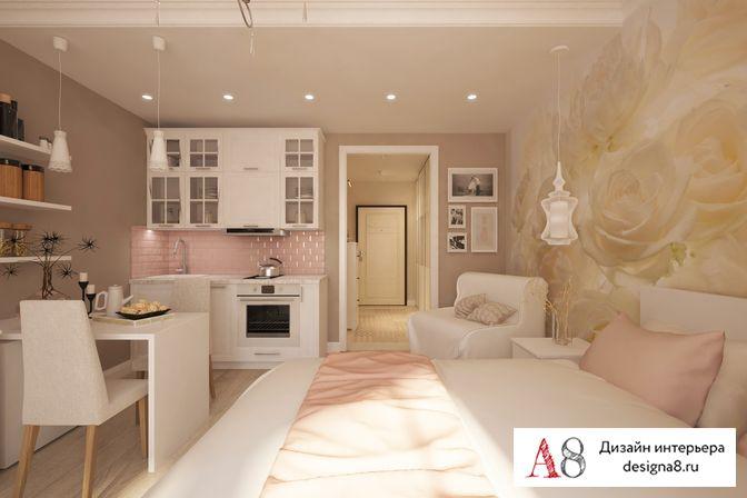 Дизайн трехкомнатной квартиры 85 кв. м